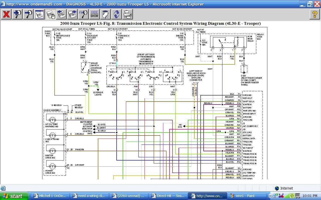01 Isuzu Npr Headlight Wiring Diagram on