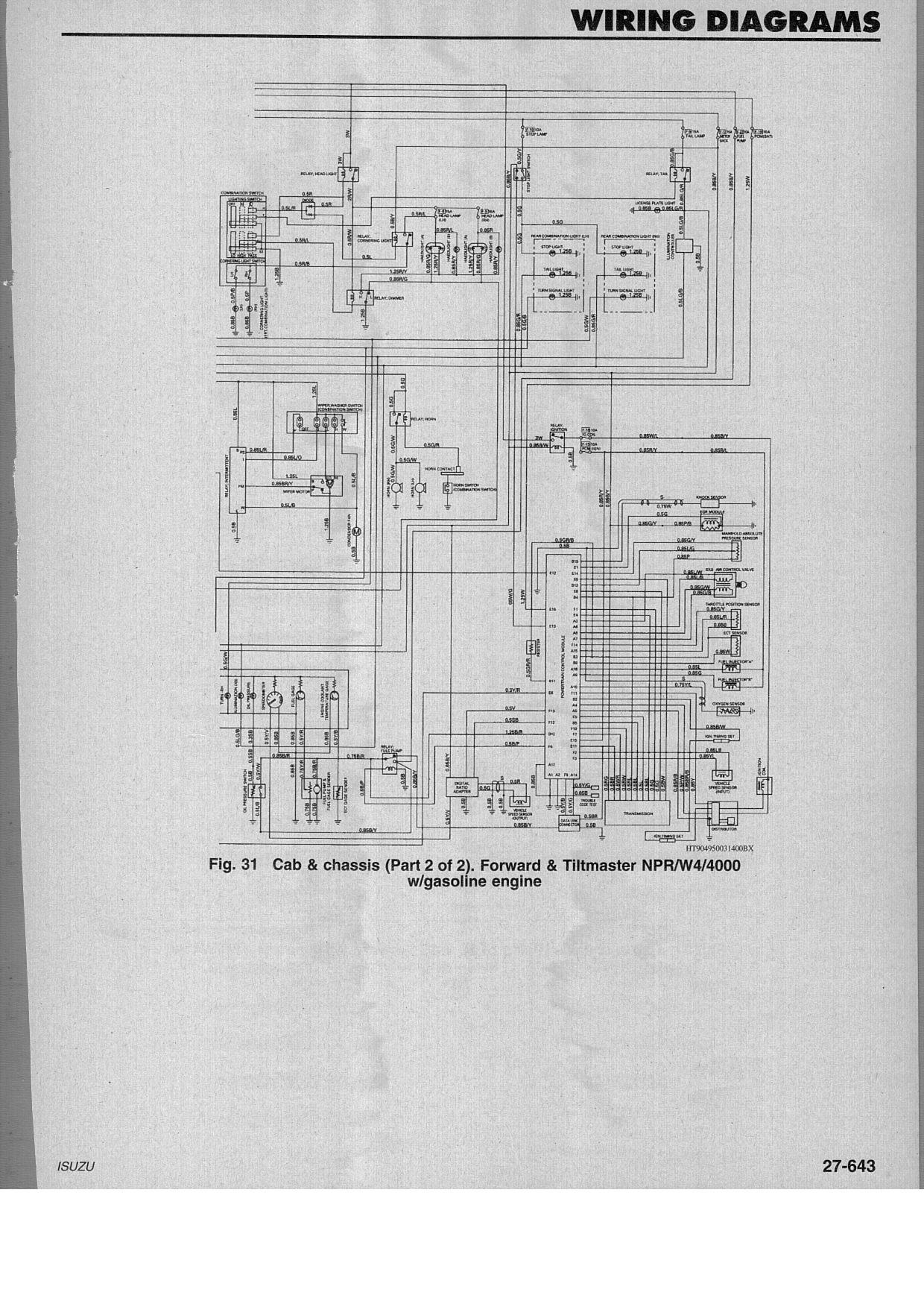 07 Chevy W4500 Throttle Wiring Diagram