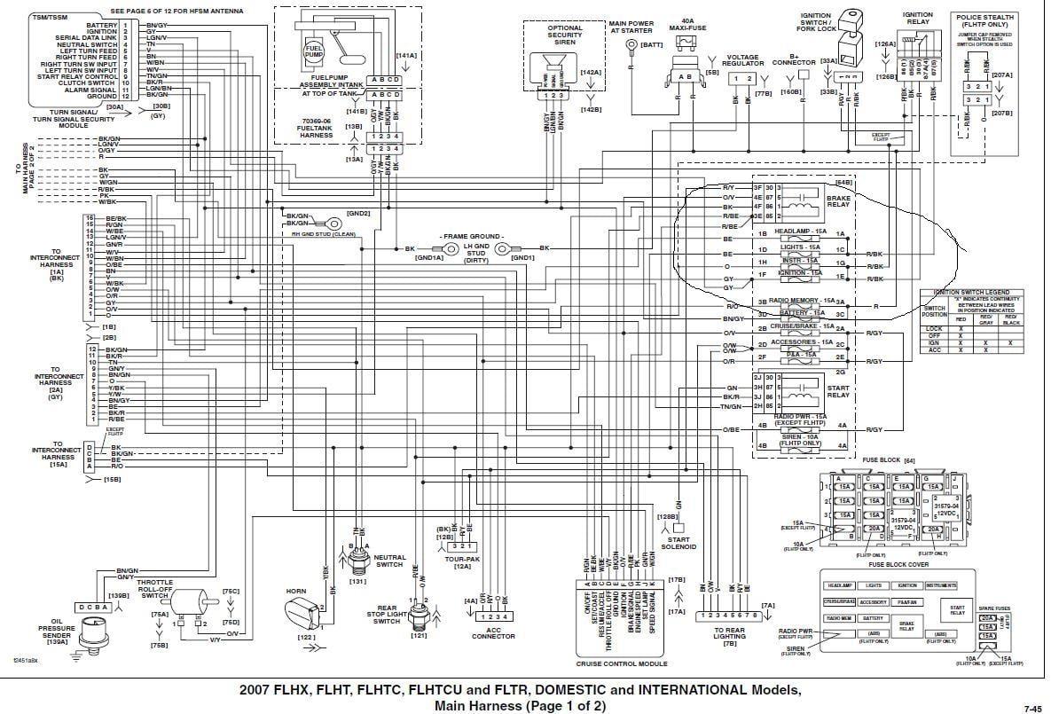 1996 Harley Sportster Wiring Diagram | Wiring Liry on