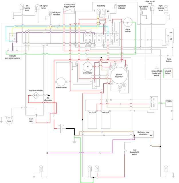 Harley Street Glide Wiring Diagram - List of Wiring Diagrams on