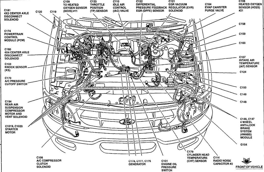 09 Ford F150 5 4l Triton 3v Need Wiring Diagram Of Injectors