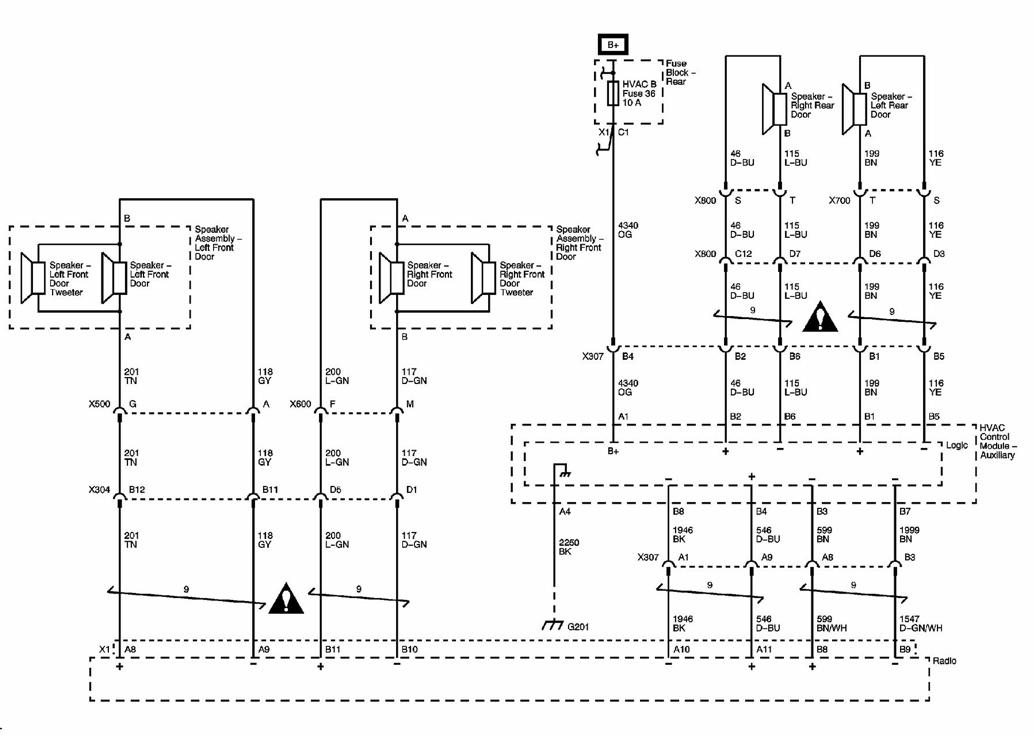 09chevrolet Tahoe Radio Wiring Diagram