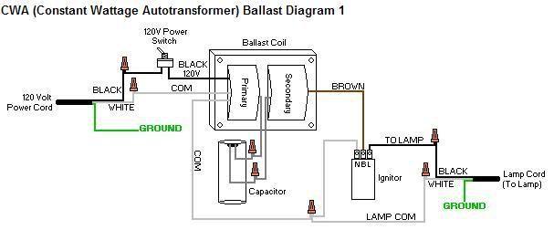 100 Mh Ballast Wiring Diagram