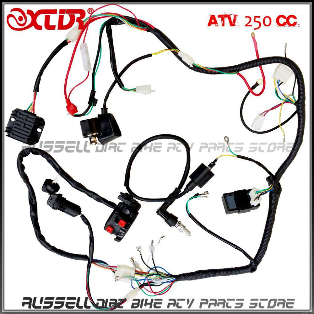 110cc atv rectifier wiring diagram Chinese 110 ATV Wiring Diagram