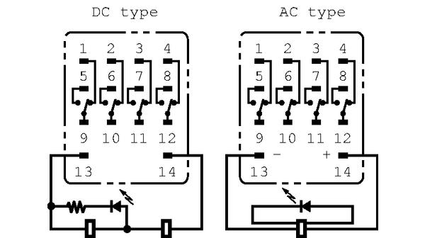 12 Volt Relays Wiring Diagram Omron Mks2pi