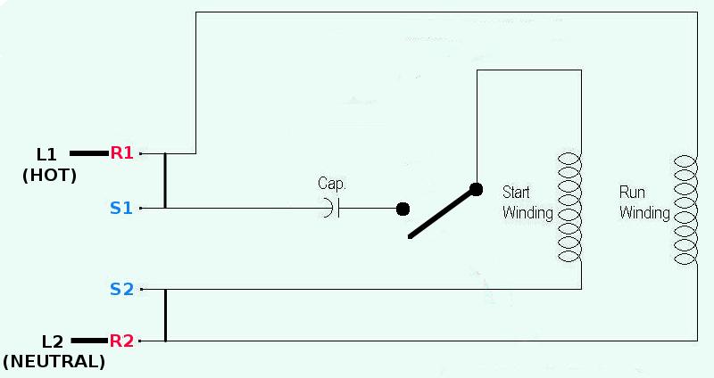 Start Capacitor Wiring Diagram from schematron.org