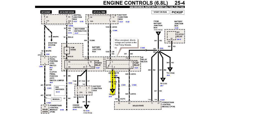16984 Ford F250 Color Wiring Diagram