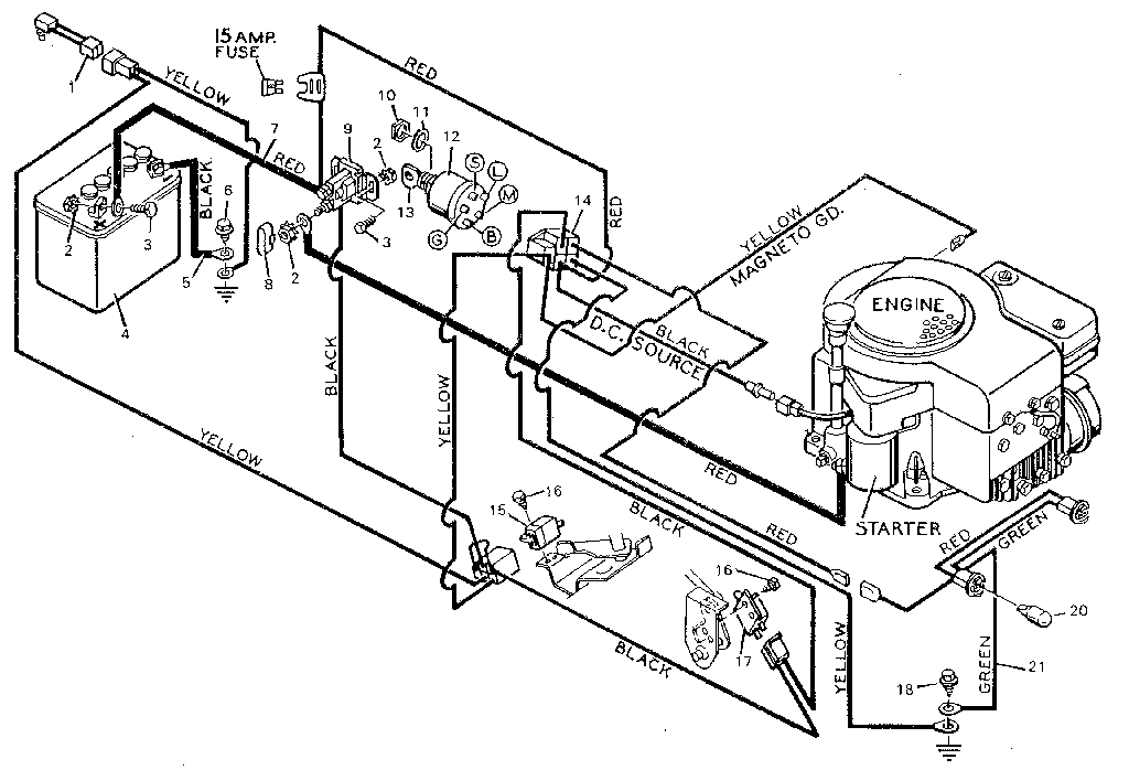 1989 Ford Tractor 6610 Alternator Wiring Diagram