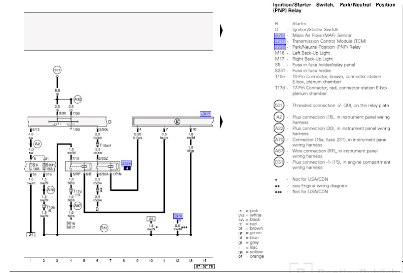 1 8t Wiring Harness Diagram