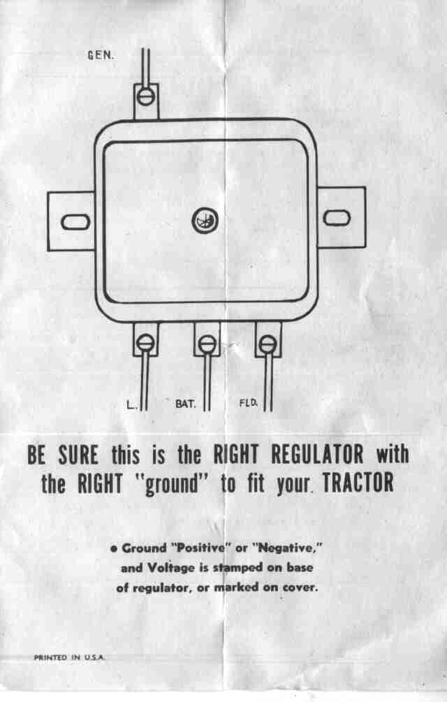 Farmall Cub Electrical Diagram - Wiring Diagrams Hidden on