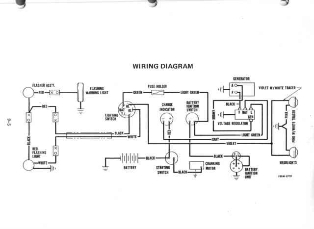 1950 Farmall Cub Wiring Diagram on