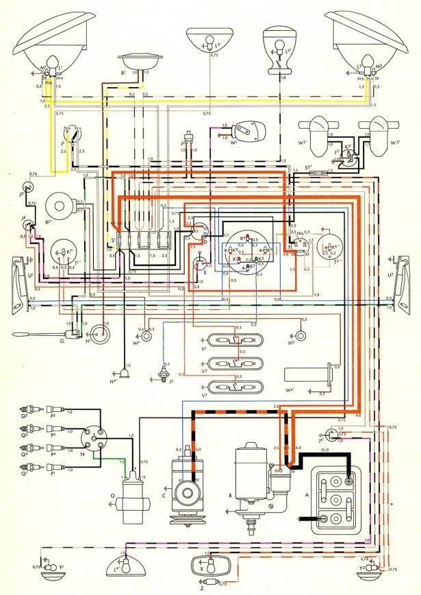 1957 Chevy 3200 Truck Brake Light Wiring Diagram
