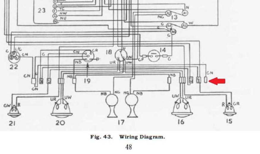 1958 Triumph Tr3 Wiring Diagram