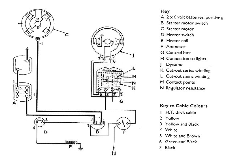 1959 Farmall Cub 6 Volt Wiring Diagram