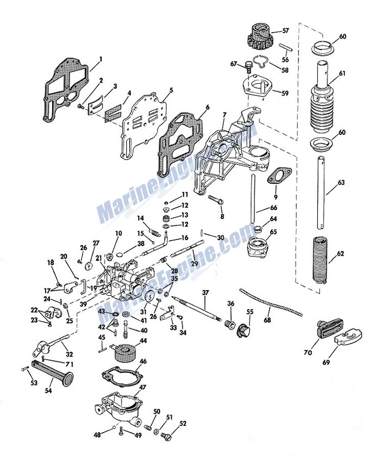 1962 Evinrude Starflite Ii 75 Hp Outboard Wiring Diagram
