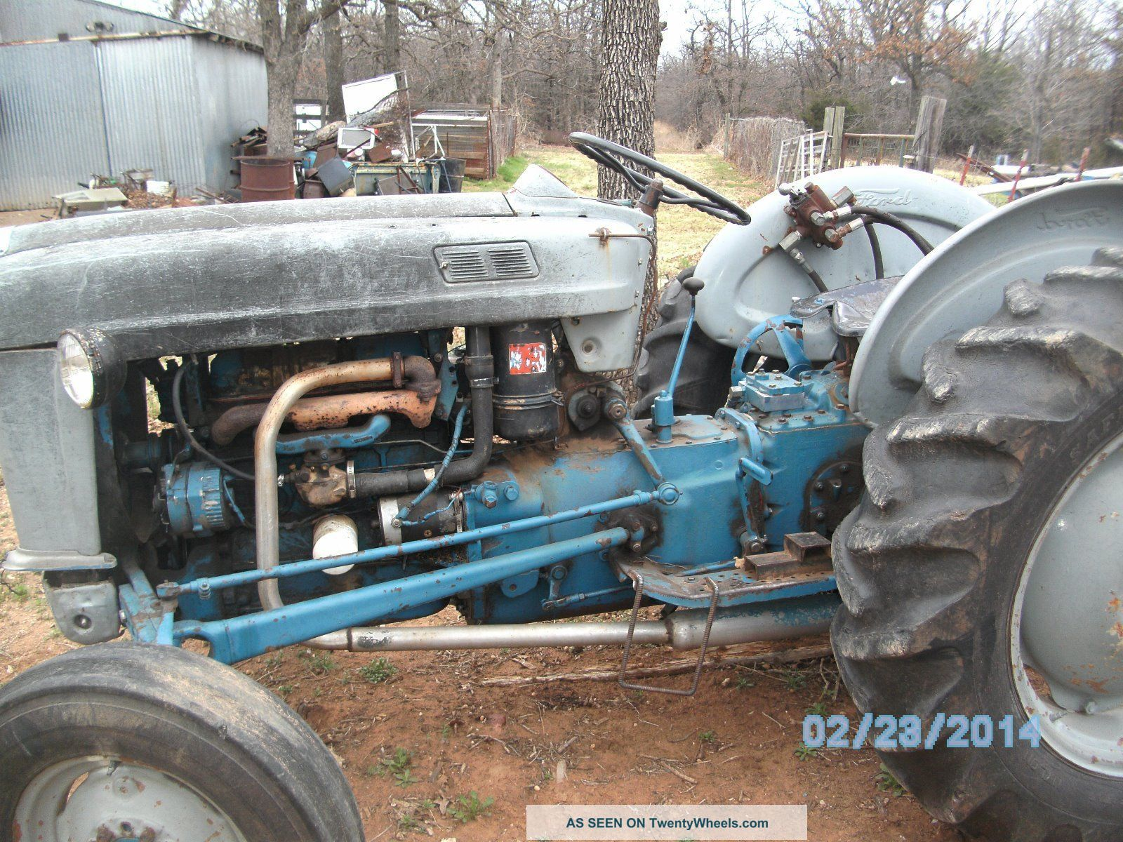 Wiring Harness Ford 4000 Tractor