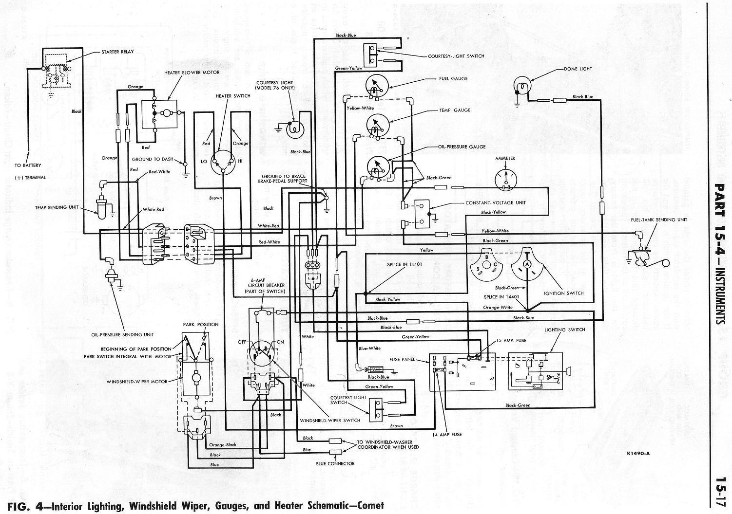 1966 Ford Galaxie 500 Wiring Diagram