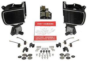 1967 Camaro Hideaway Headlight Wiring Diagram