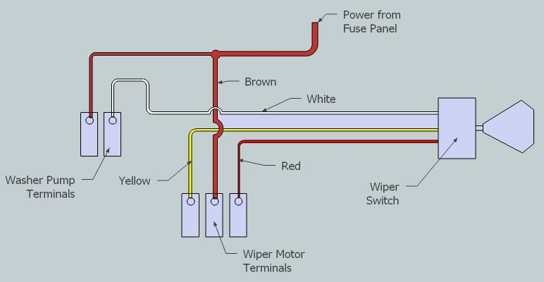 chevy windshield wiper switch wiring diagram  auto wiring