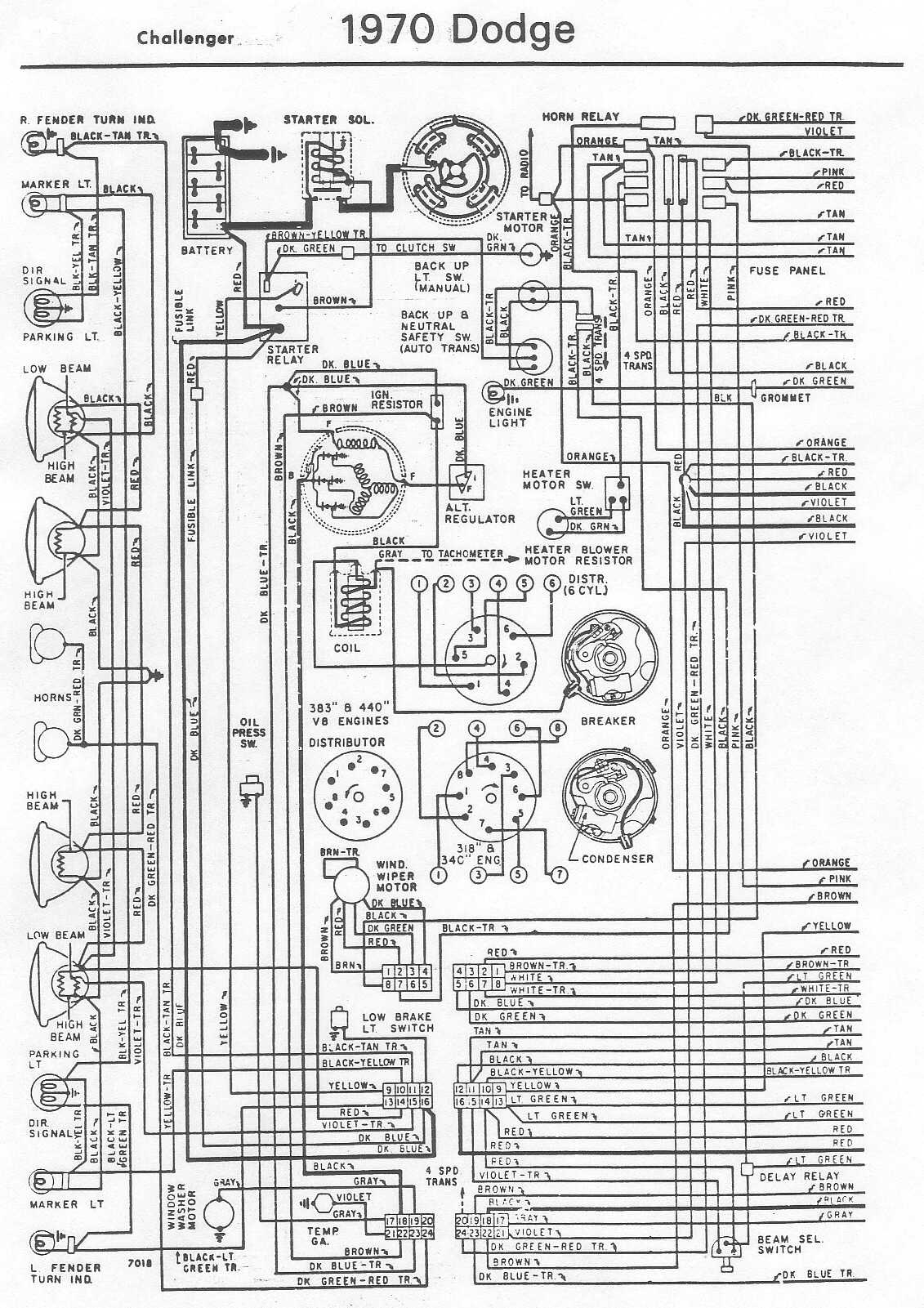 1970 Barracudav8 Ignition Diagram Wiring Diagram