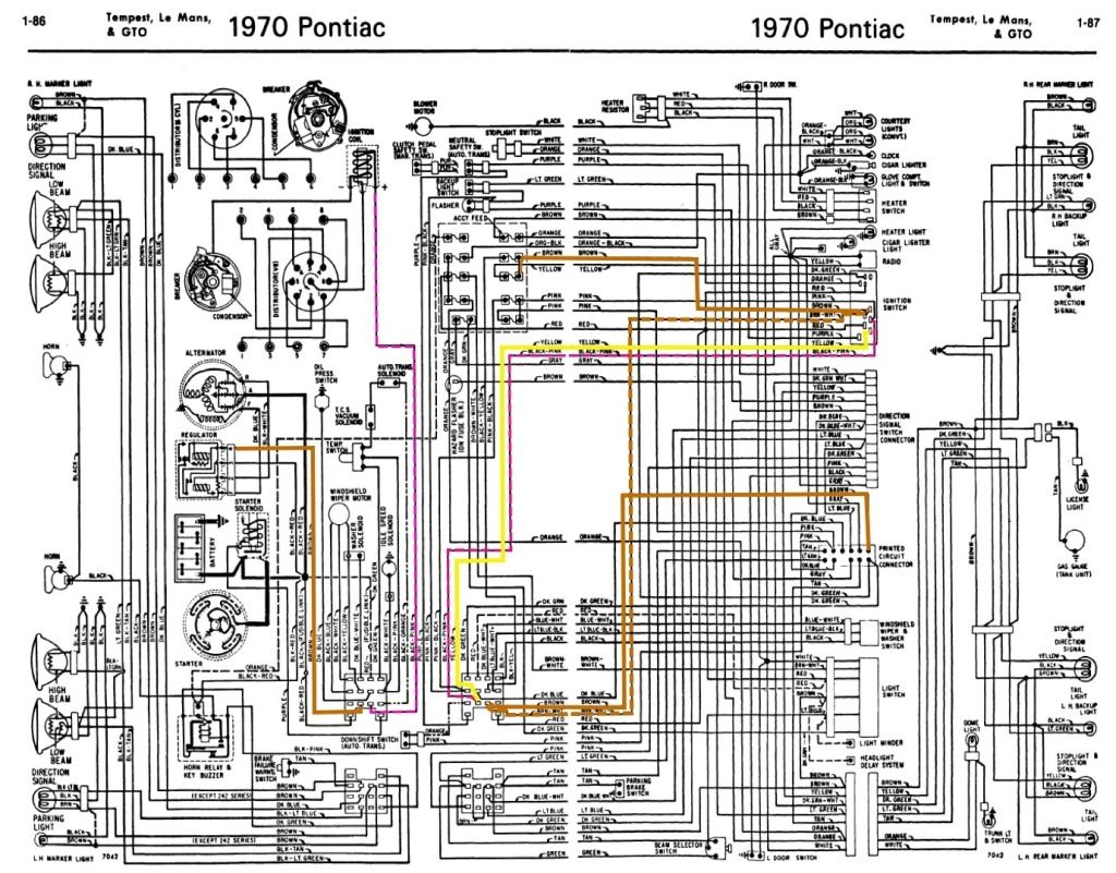 Pontiac Gto Wiring Diagrams On Wiring Diagram For 1967 Pontiac Lemans