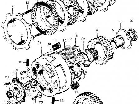 1971 Honda Sl70 Wiring Diagram