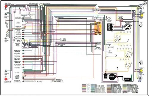 1972 Buick Skylark Wiring Diagram