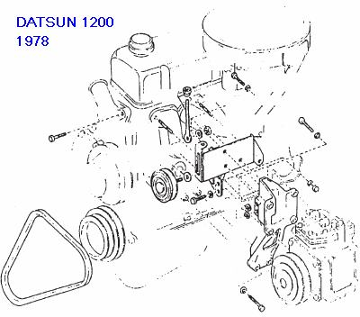 1973 Datsun 620 Wiring Diagram