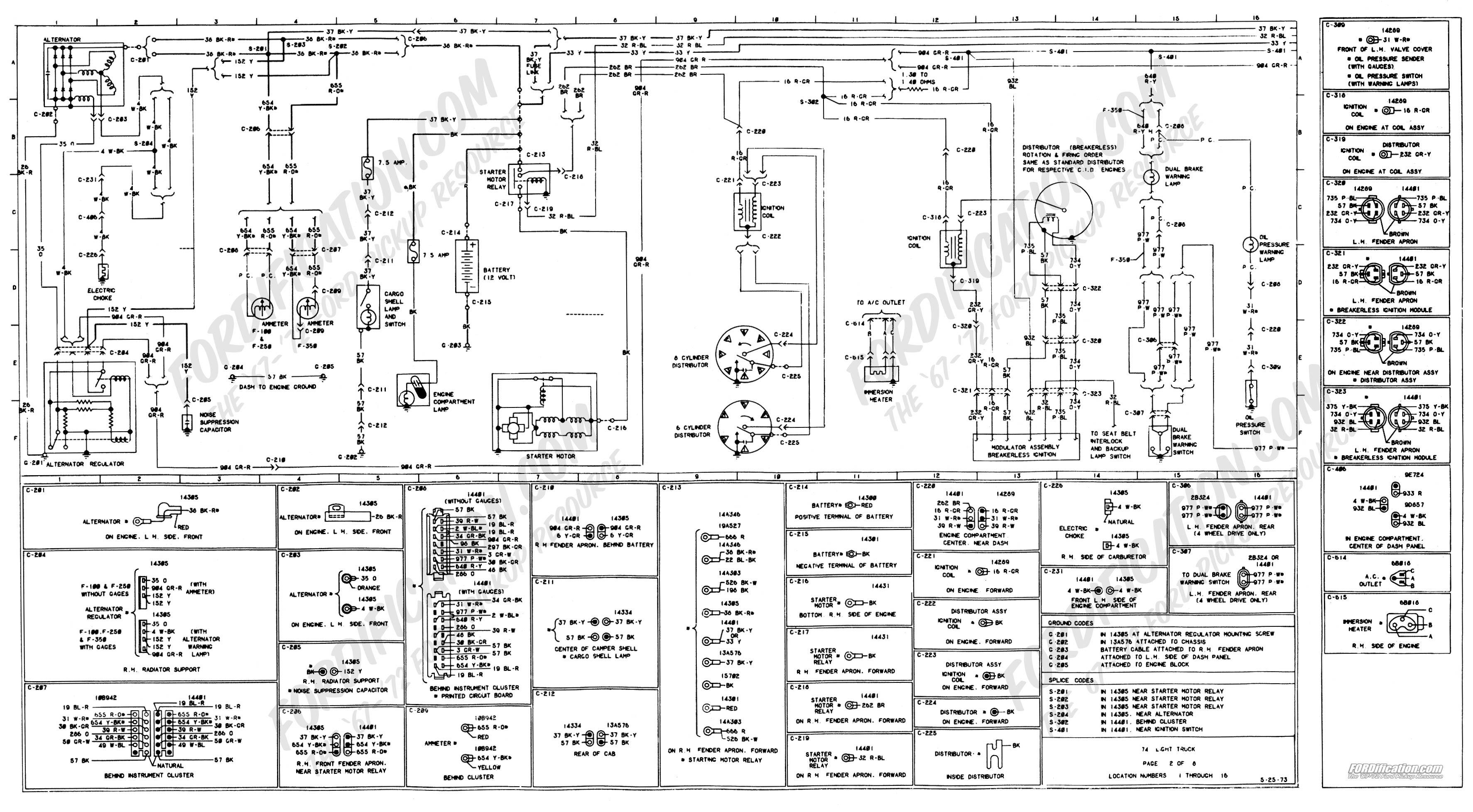 1975 Ford F600 Wiring Diagram Ford F Wiring Diagram on