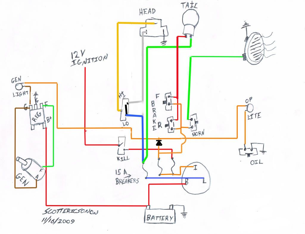 1975 Shovelhead Wiring Diagram on
