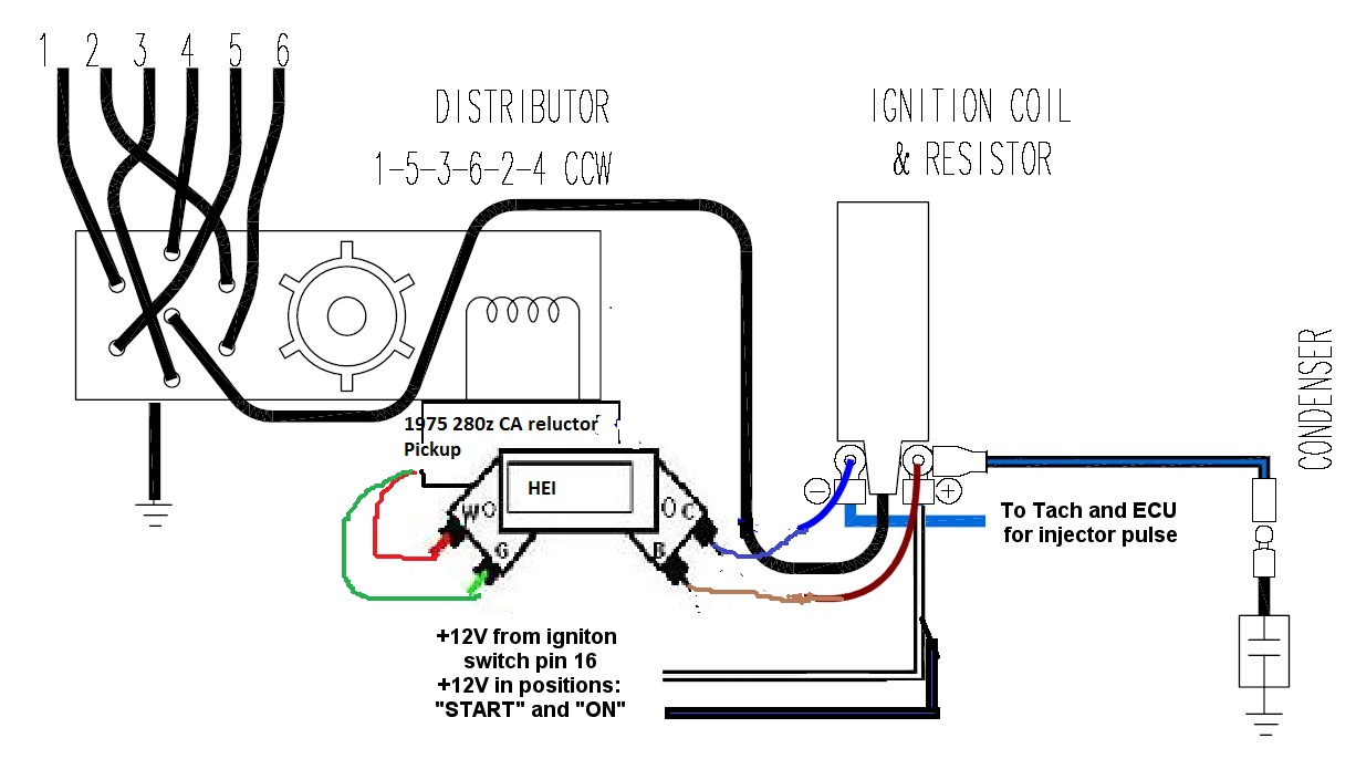 1977 Datsun 280z Iginition Wiring Diagram