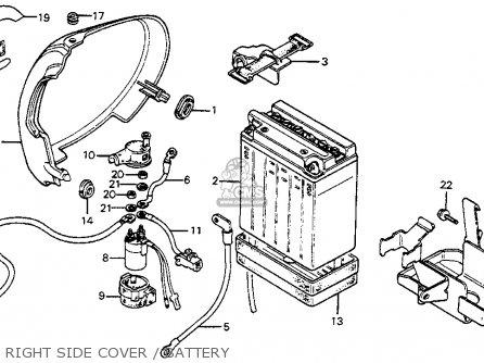 1978 Honda Cb400a Wiring Diagram