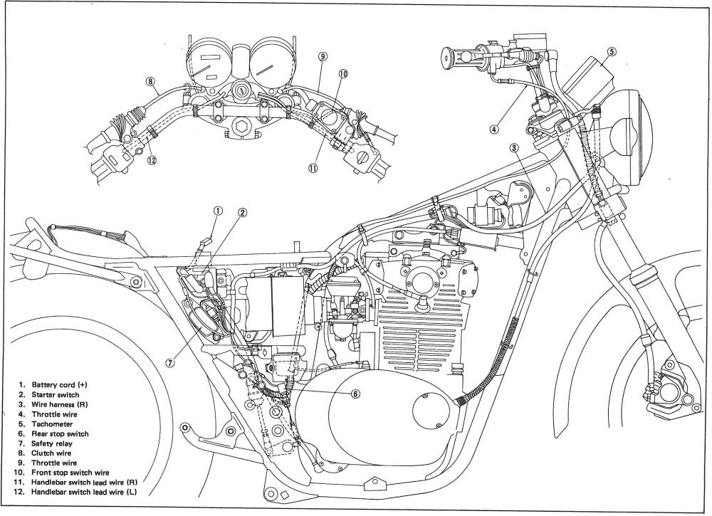 1978 Xs650 Wiring Diagram