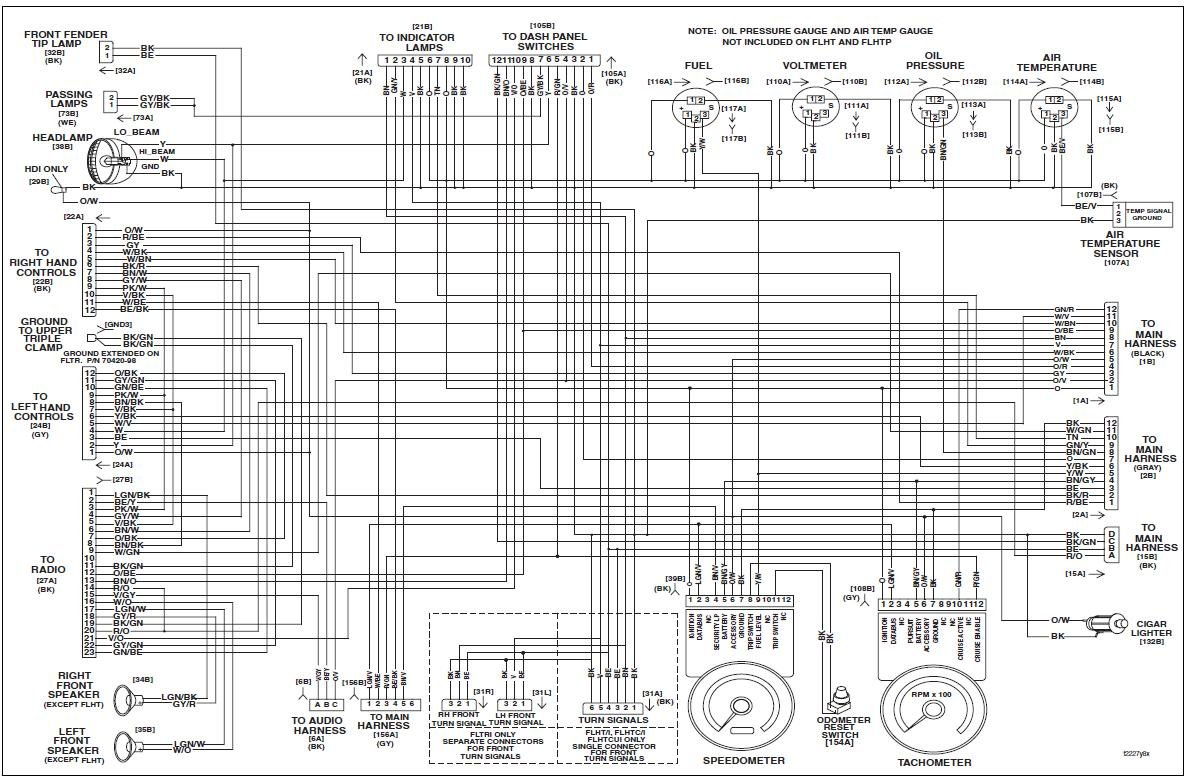1979 Flh Wiring Diagram