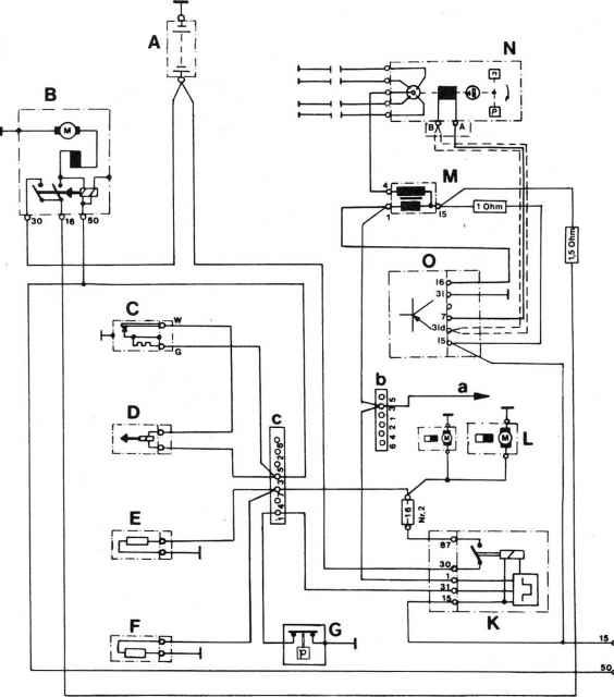 1979 Porsche 924 Fuel Auxiliary Air Valve Wiring Diagram