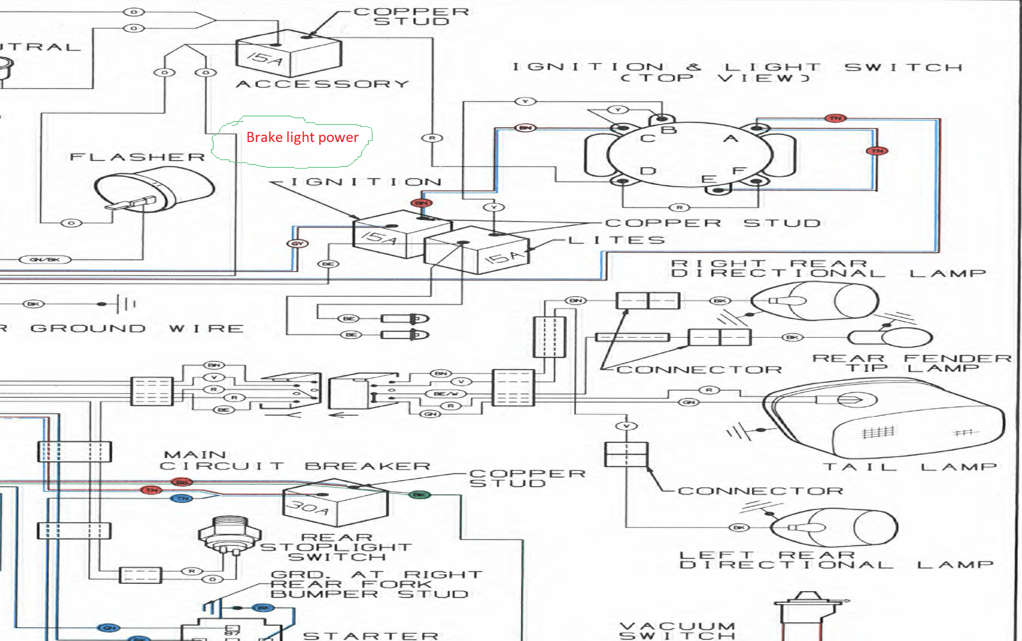 1981 Fxr Wiring Diagram