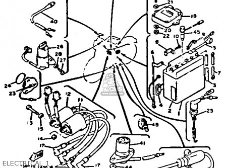 1982 Yamaha Xj750 Wiring Diagram on