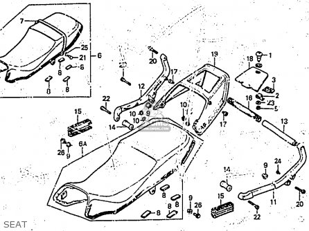 1983 Honda Cb1000c Spark Plug Wiring Diagram