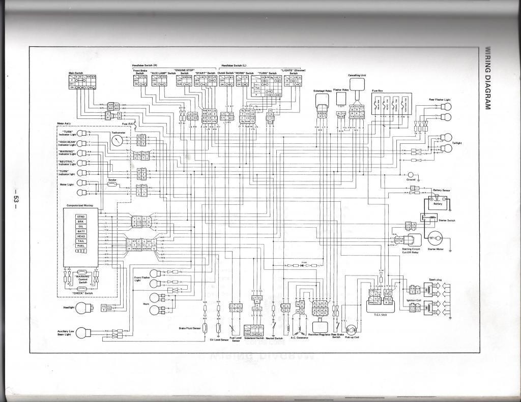 83 Yamaha Virago Wiring Diagram - Schematics Online on