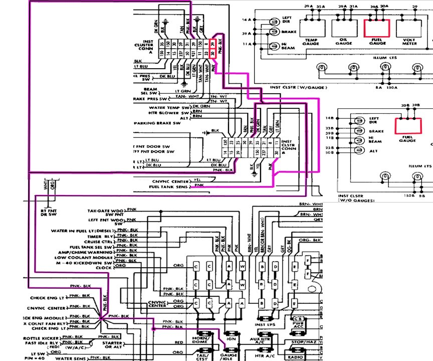 1986 Chevrolet K10 Wiring Diagram