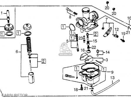 1984 Honda Trx 200 Wiring Diagram on