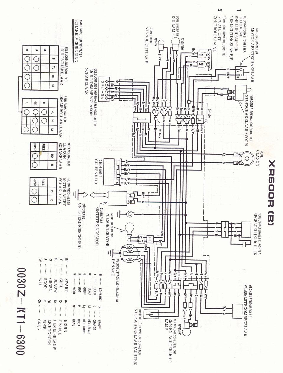 1984 Trx 200 Cdi Wiring Diagram