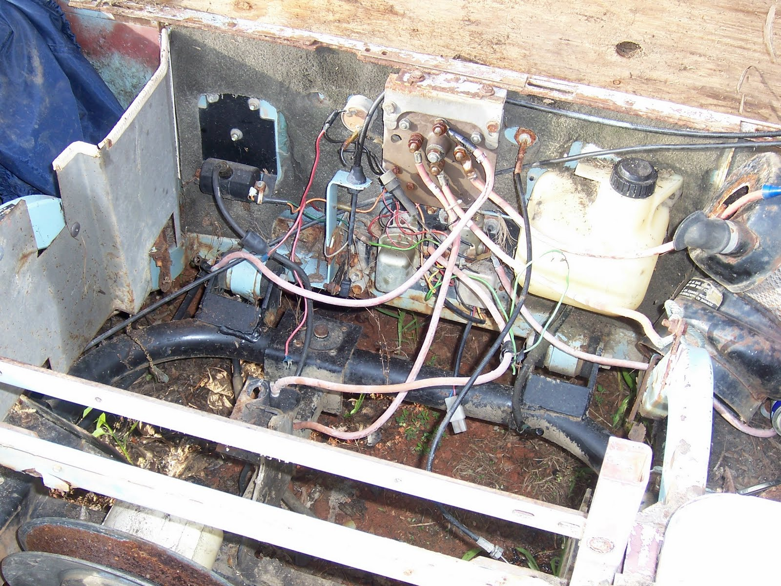 1985 Ez Go Marathon 36volt Forward Reverse Switch Wiring
