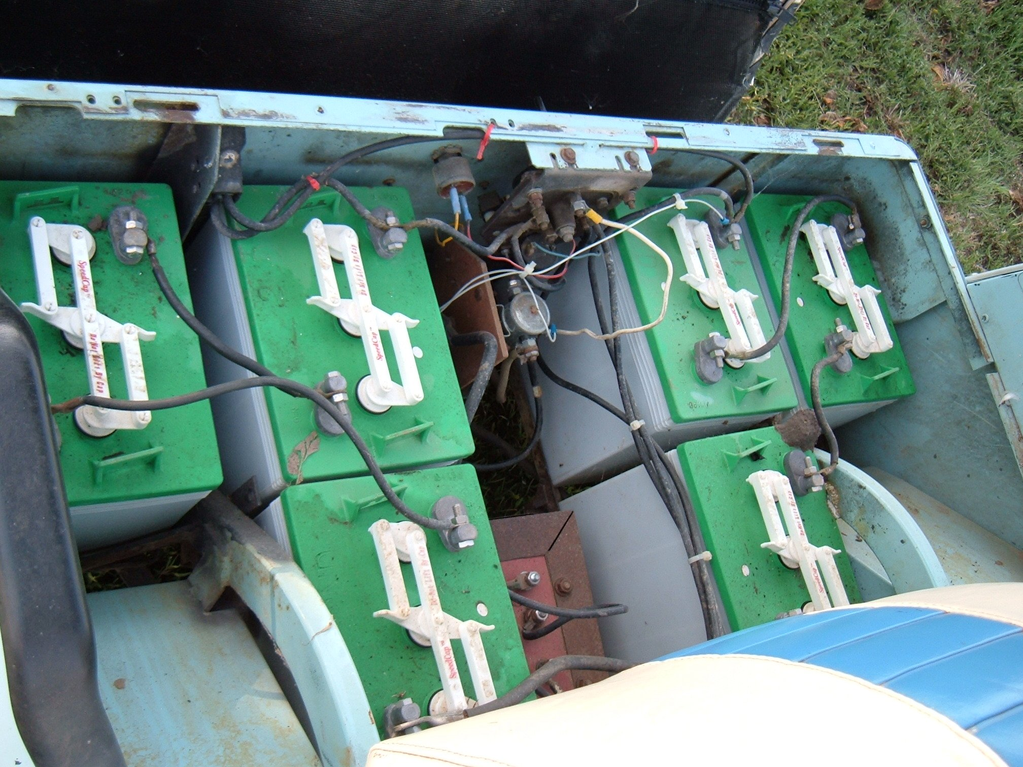 electric golf cart wiring diagram on 36v ezgo battery wiring diagram