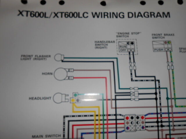 1986 Gl1200a Color Wiring Diagram