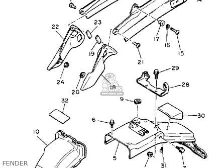 1986 Mercruiser Wiring Diagram