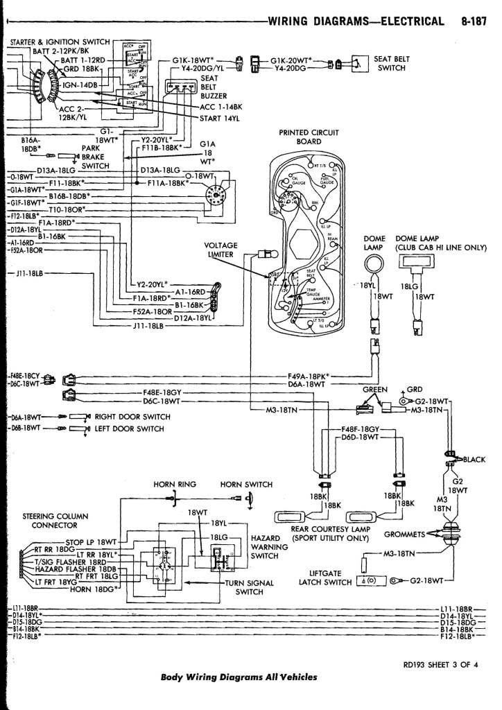 [SCHEMATICS_4ER]  1987 Dodge Truck Wiring Diagram | Wiring Diagram | 1984 Dodge Pickup Wiring Diagram |  | Wiring Diagram - AutoScout24