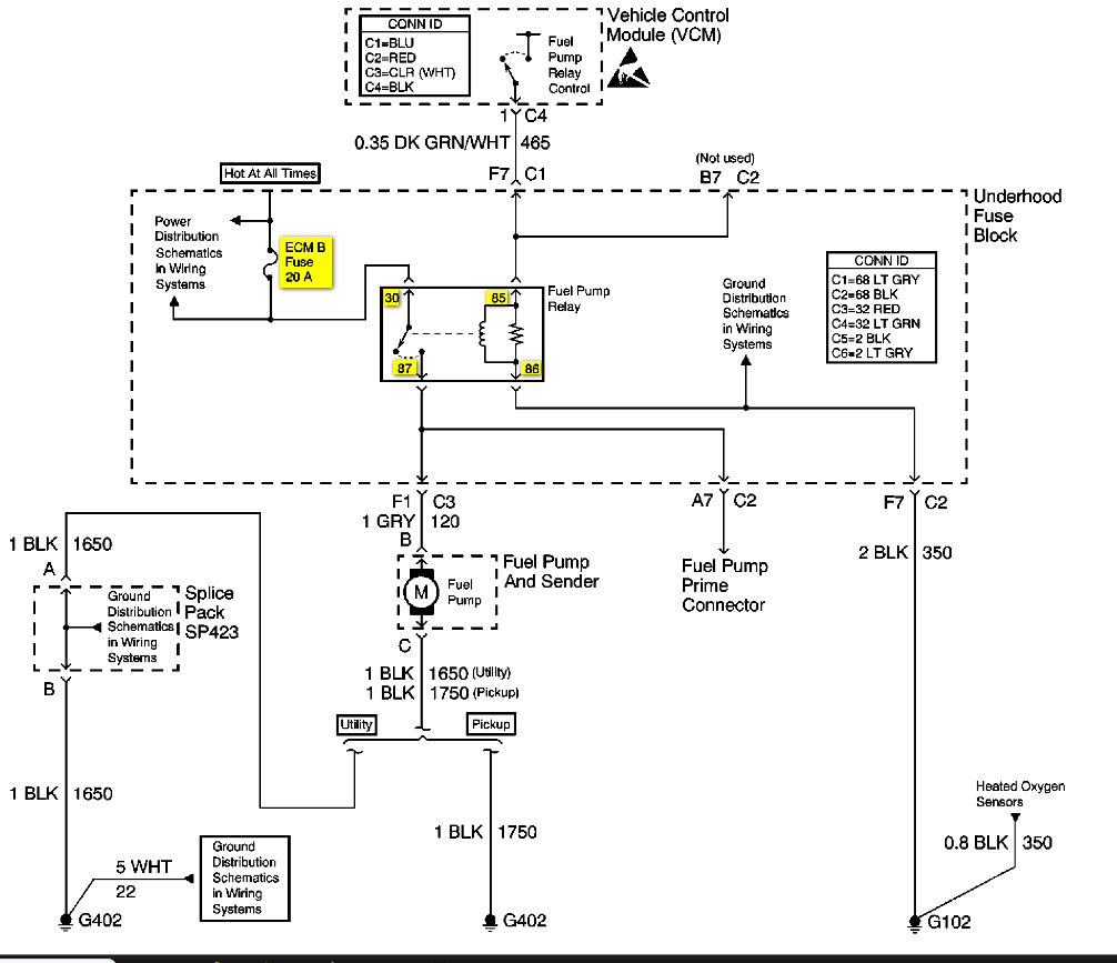 Fuel Sending Unit Wire Diagram Corvetteforum Chevrolet Corvette
