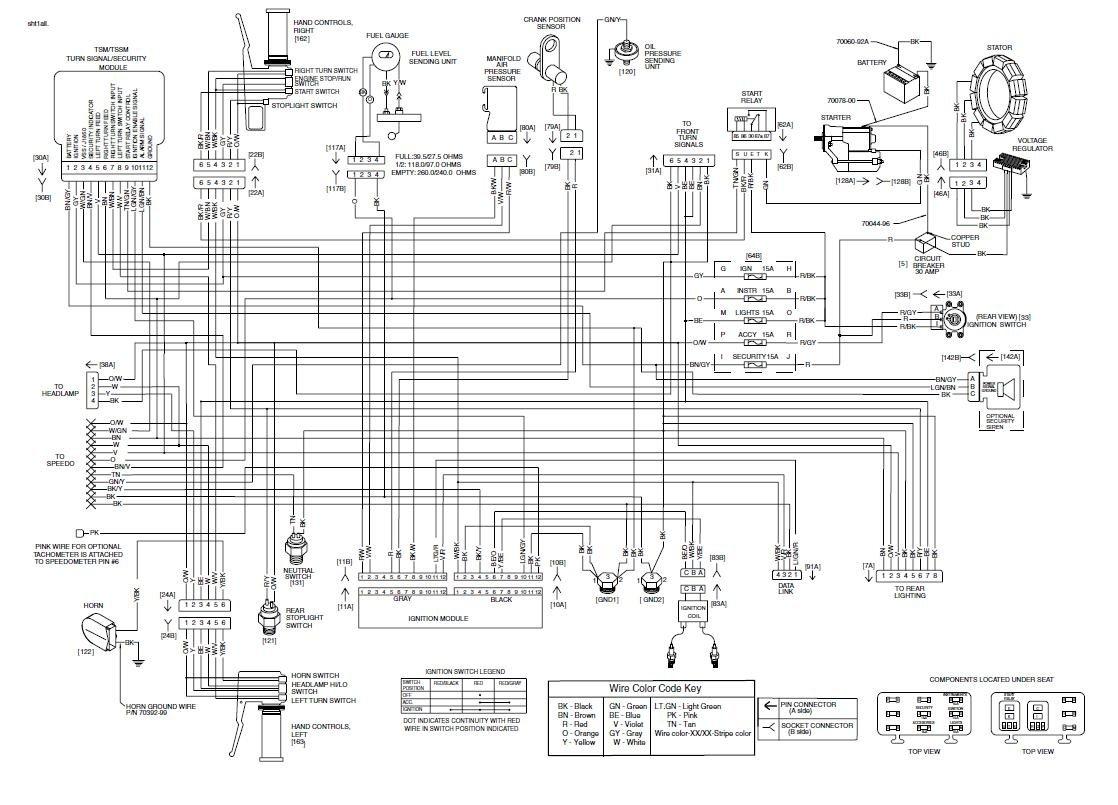 Harley Davidson Headlight Wiring Diagram from schematron.org