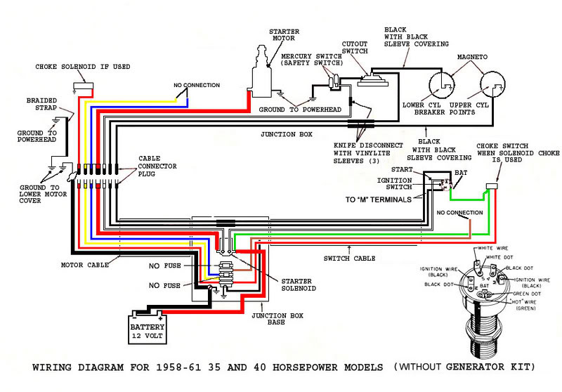 1989 Force 35hp Wiring Diagram Wiring Diagram